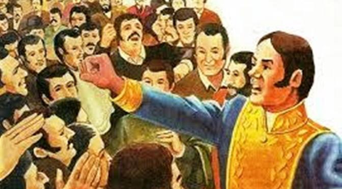 Profecia: La Cosiata, acontecimientos en Venezuela