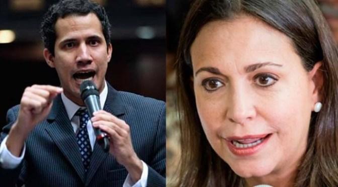 Mensaje a Venezuela 27/08/2.020 Guaidó y María Corina.